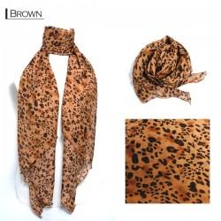 Silk Style Long Scarf