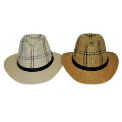Checker Cowboy Hat