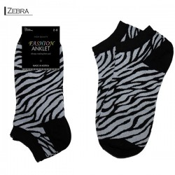 Fashion Anklet - Zebra