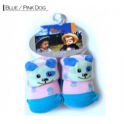 3D Baby - Blue / Pink Dog