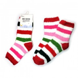Bed Socks-Candy Colour Stripe3