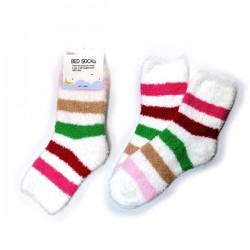 Bed Socks-Candy Colour Stripe7