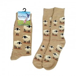 Gift Socks - Sheep/Beige