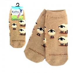 Gift Socks - Sheep/Beige