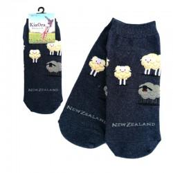 Gift Socks - Sheep/Navy