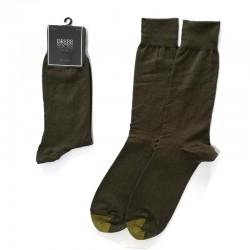 Men Dress - Dark Olive with...