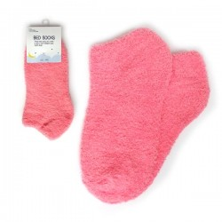 Bed Socks - Anklet Plain Pink