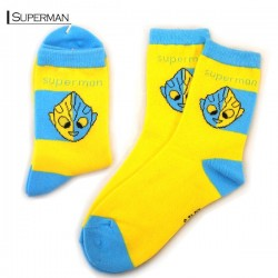 Kids Pattern Socks- Superman